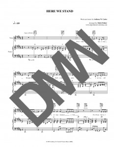 Publication Ready Sheet Music Digital Music Workshop